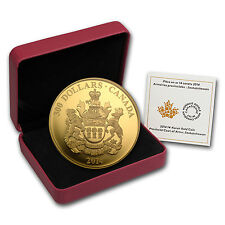 2014 Canada Proof Gold $300 Saskatchewan Coat of Arms - SKU #80701