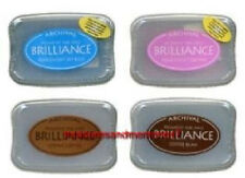 BRILLIANCE Archival Pigment Ink Pads- SET OF 4 INK PADS