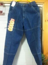 #1291 WRANGLER HIDDEN POCKETS CARGO BLUE JEANS BOYS 18 REGULAR WAIST-30 NEW