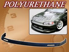 FOR 92-95 CIVIC 2DR 3DR BYS POLY URETHANE PU FRONT BUMPER LIP SPOILER BODY KIT