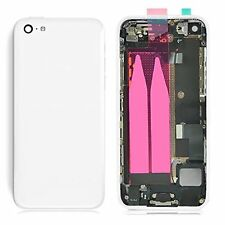 Complete Housing Case Back Battery Door Cover Mid Frame Assembly For iPhone 5C