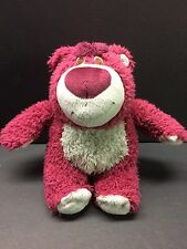 "7"" Disney Pixar  Lots-o-Huggin Strawberry Teddy Bear Plush Toy Story 3"