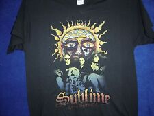 Sublime Sun Long Beach Cal T-Shirt  Psychedelic Large