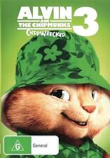 Alvin and the Chipmunks 3: Chipwrecked  - DVD - NEW Region 4