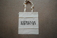 KATATONIA LOGO TOTE BAG NEW OFFICIAL DEAD END KINGS NIGHT IS THE NEW DAY