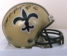 George Rogers New Orleans Saints Mini Helmet - Rookie of the Year 1981 Inscript