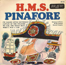 """THE NATIONAL MUSICALE COMPANY - H.M.S. Pinafore EP (UK 4 Tk 1964 7"""" Single)"""
