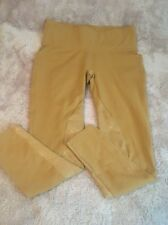 Spanx Women's Ready-To-Wow! Riding Leggings Camel Pants Breeches Sz XL Mint Con