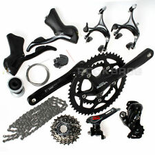 SHIMANO Sora 3500 9 Speed Road Bike Groupset Group Set Build Kits Gruppos Black