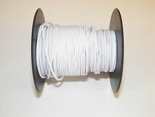 18 GXL HIGH TEMP AUTOMOTIVE WIRE 100 FOOT SPOOL OF WHITE