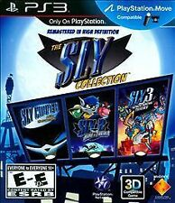 SLY COOPER HD COLLECTION PS3 NEW! 3 GAMES IN 1! BAND OF THIEVES, HONOR AMONG