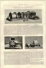 1900 Jute Mills Naihati Compound Mill Engines Calcutta Scott Mountain Mines Gear