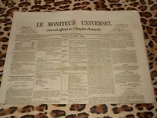 LE MONITEUR UNIVERSEL, journal officiel de l'empire français, n° 289, 16/10/1858