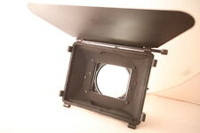"Chrosziel Mattebox AC 411-50 mit Sunshade 4x4"" Filterhalter (2x) + French Flag"