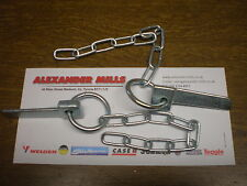 Trailer Cotter Pin And Chain 2pk Tractor Trailer Lorry Caravan Farm Horsebox