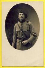 cpa Carte Photo MILITAIRE SOLDAT du 97e Régiment