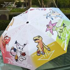 Digital Monster Digimon Adventure Cosplay Anti UV Compact Rainy Umbrellas Anime