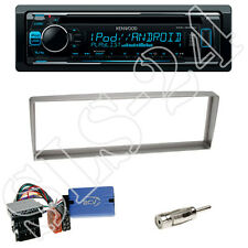 Kenwood KDC-300UV CD-Radio + Alfa Romeo 156 1-DIN Blende silber + LFB-Adapter