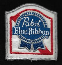 VINTAGE Pabst Blue Ribbon Beer Collectors Patch - New Old Stock