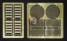 """Royal Model 1/35 """"Engine Grill Screen"""" for Sd.Kfz.171 Panther Ausf.G Tank 612"""