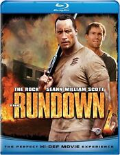 RUNDOWN (WELCOME TO THE JUNGLE) The Rock -  Blu Ray - Sealed Region free for UK