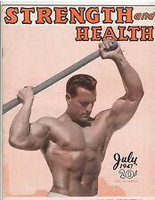 Strength & Health Bodybuilding Weightlifting Muscle Magazine/Clancy Ross 7-47
