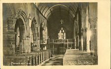 NORWENSTOW( Cornwall) : Church interior RP-NOLE