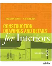 Construction Drawings and Details for Interiors : Basic Skills by Rosemary...