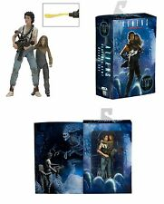 NECA ALIENS RIPLEY & NEWT ACTION FIGURE 2 PACK - 30TH ANNIVERSARY RESCUING NEWT