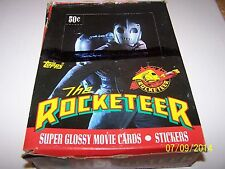 1991 Topps The Rocketeer Movie Trading Cards Unopend Box (36 Packs)