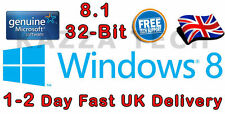 Microsoft windows 8.1 32-bit oem anglais international dvd véritable version complète