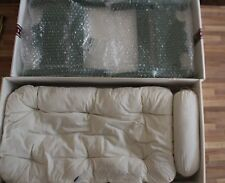 American Girl Josefina Sleigh Bed with Mattress and Pillow Green New in Box