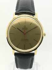 OMEGA Seamaster De Ville  165 008 Automatic - 1965 - 18ct Yellow Gold - Serviced