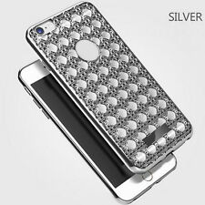 Glitter Bling Crystal Diamond Soft Rubber Case Cover For Apple iPhone 6s 7 Plus