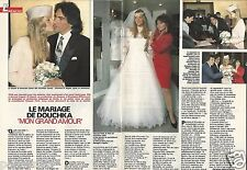 Coupure de presse Clipping 1990 Le Mariage de Douchka  (2 pages)