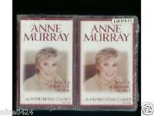 What A Wonderful World-26 Inspirational Anne Murray New  Amazing Grace Cassettes