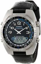 Casio Fishing Timer Moon Watch, 100 Meter WR, 3 Alarms, AMW700B-1AV