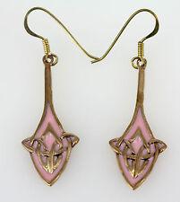 Irisch Schmuck - Ohrhänger Bronze Keltische knoten Celtic knot kelten Amulett