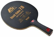 New TSP Table Tennis Racket / Paddle BLACK BALSA 7.0 FL 26294
