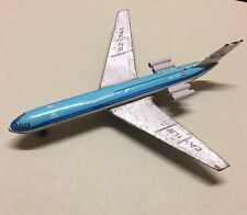 VINTAGE 1960's  KLM PLANE DUTCH AIRLINES CA-IL5 62-741 RARE TIN PLATE TOY