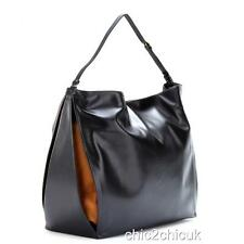 STELLA Mccartney BLACK Beckett Big Borsa Hobo Borsa a tracolla Wallet Clutch rrp800gp