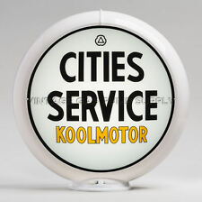 """Cities Service Koolmotor 13.5"""" Gas Pump Globe (G115) FREE SHIPPING - U.S. Only"""