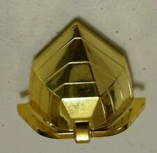 Mighty Morphin Power Rangers Deluxe Zeo Megazord Blue Zord Gold Helmet #2
