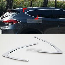 Chrome Window Rear C Pillar Cover Molding Garnish for HYUNDAI 2016-17 Tucson TL