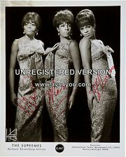 "Diana Ross and the Supremes 10"" x 8"" Photograph no 164"