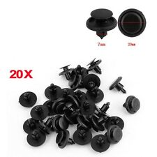 7mm 20pcs Car Bumper Hood Fender Splash Guard Retainer Clip Fastener For Toyota