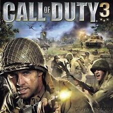 CALL OF DUTY 3 Sony Playstation 2 PS2 Game - Complete!