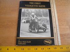 1977 The First Velocette Scene Motorcycle book England 64pgs KSS KTT Venom
