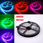 5M 300 LEDS 5050 SMD RGB LED Streifen Strip Leiste Band Lichterkette 72W