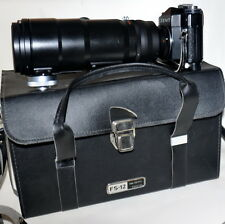 Zenit FS-12 Photo Sniper . 2 LENS, 2 BLENDAS, 5 FILTERS, ORIGINAL BOX!